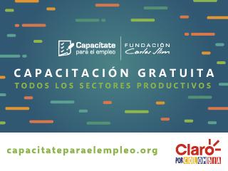 Capacitación gratuita  fundación Carlos Slim